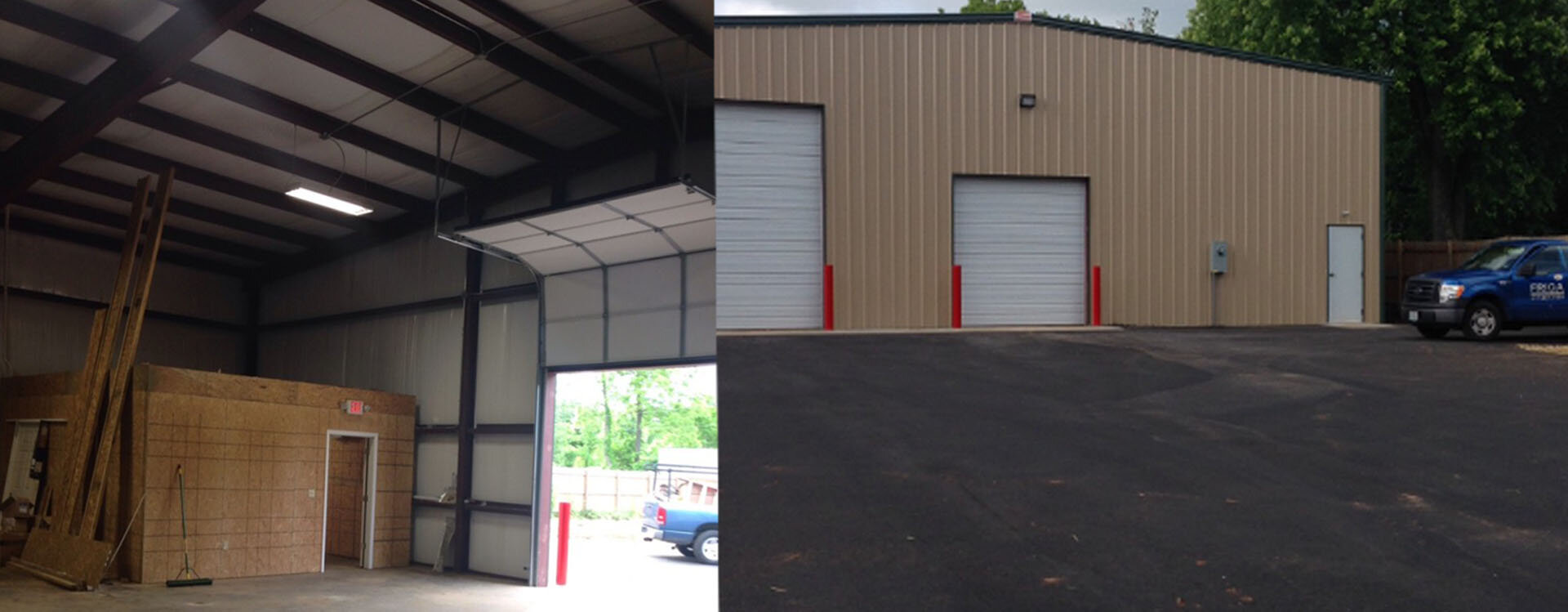 Commercial Storage buildings by Friga INC