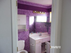 Master bathroom Before Remodeling by Friga INC