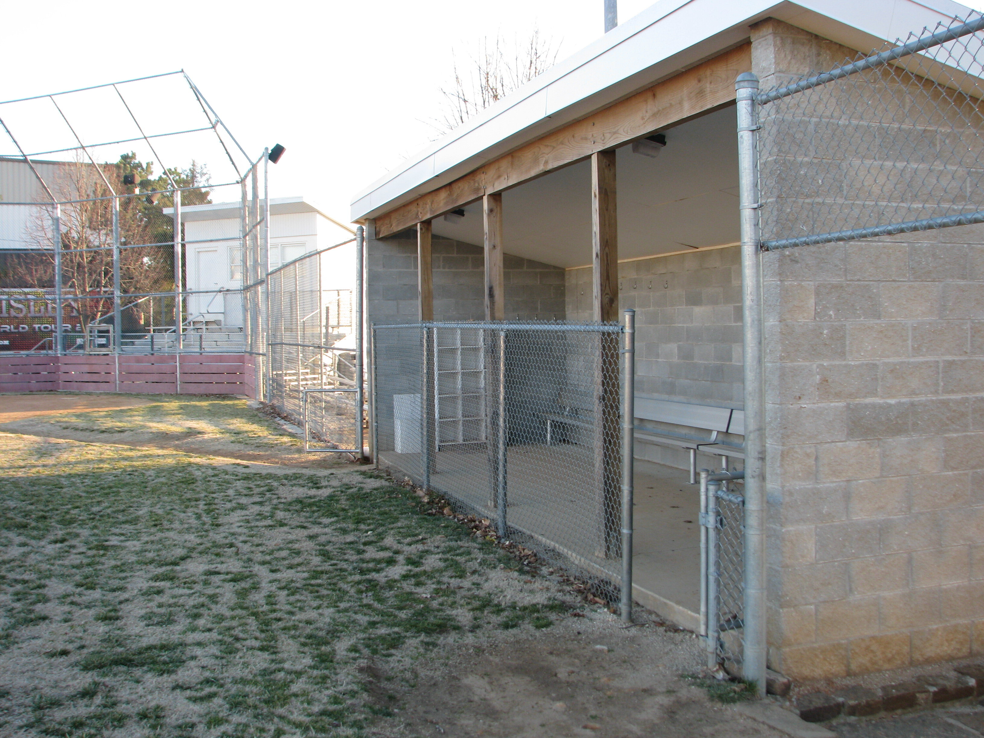 MSU Softball Dugouts - Friga INC