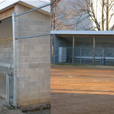 MSU Softball Dugouts- Friga INC