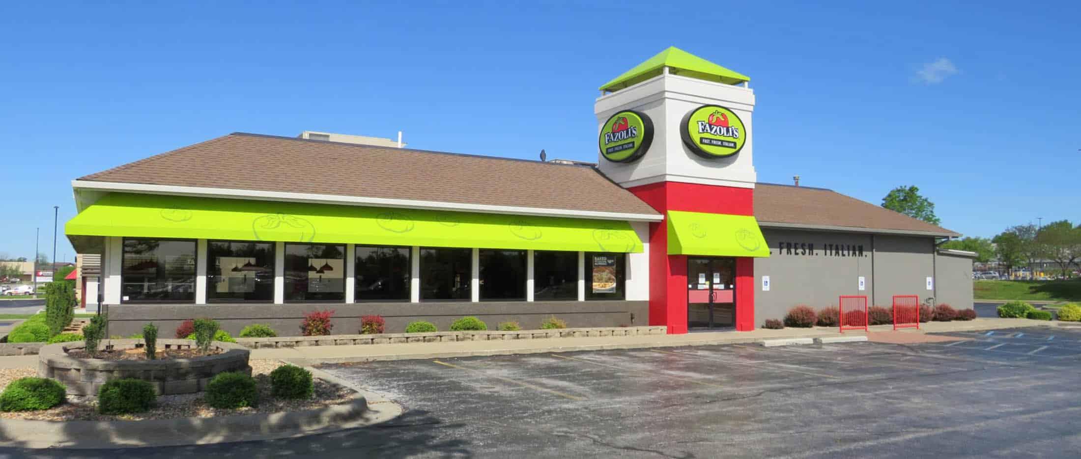 Fazoli's Restaurant Renovations By Friga Constructions Springfield MO