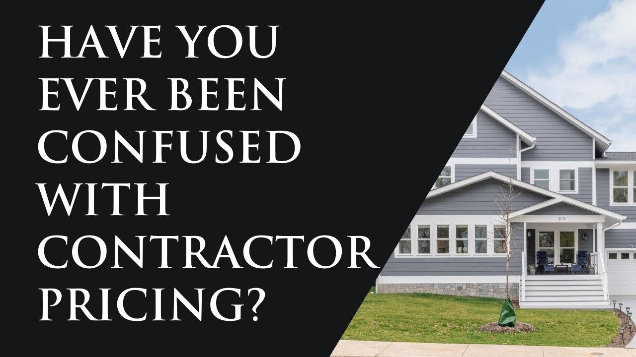 Contractor pricing Explained